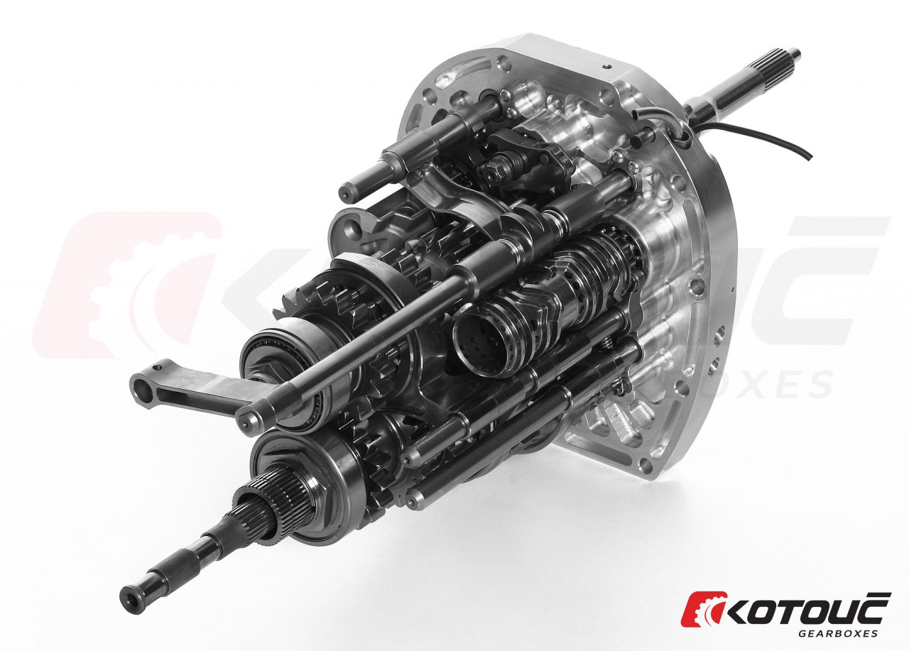 Racing Sequential Gearbox for Subaru STI | Kotouč Racing